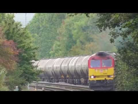 DB schenker 60001 with westerleigh to lindsey empty oil train
