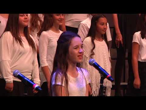 Lone Hill Middle School Spring Concert Cross the River Jordan March, 2017