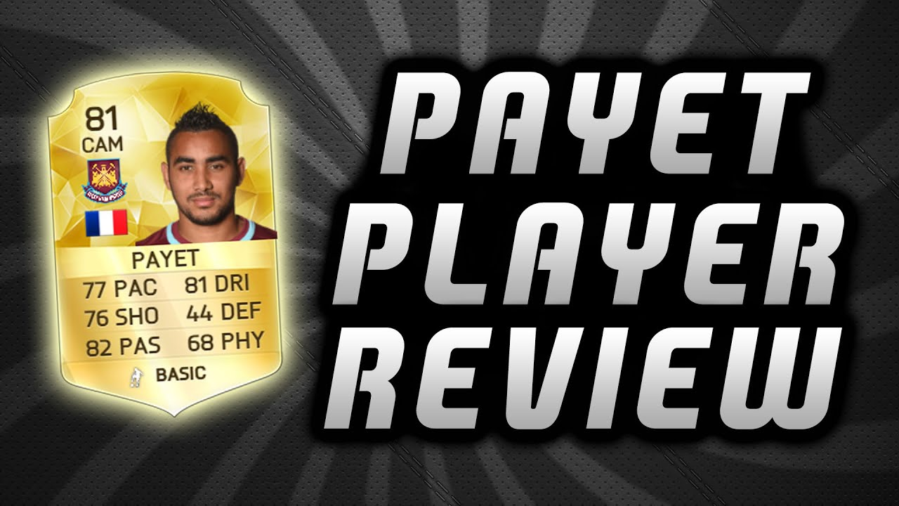 Dimitri payet player review fifa 16 ultimate team youtube