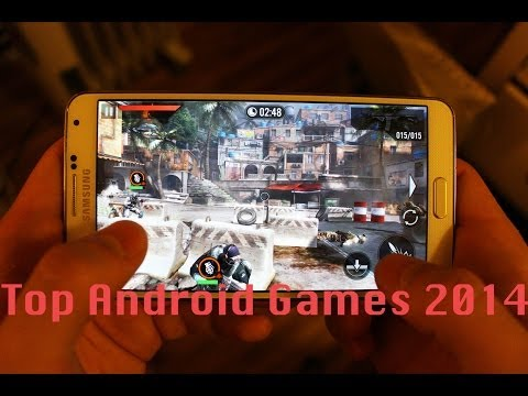Top Android Games 2014