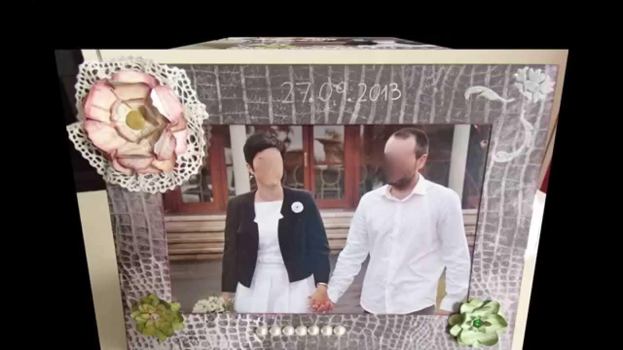 Marco fotos boda-Wedding photo frame - YouTube
