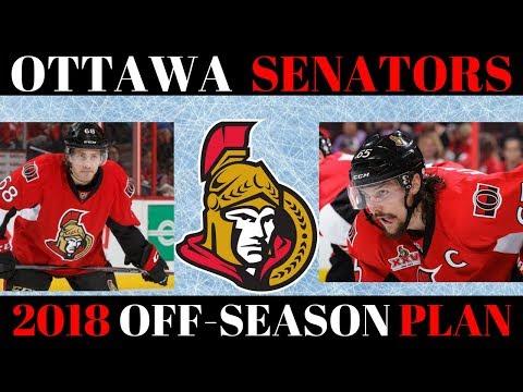 What's next for the Ottawa Senators? 2018 Off Season Plan