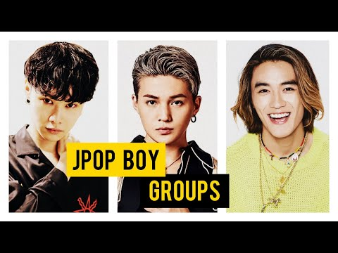 Jpop Boy Groups You Need To Know/ Listen To This Year! (2019)