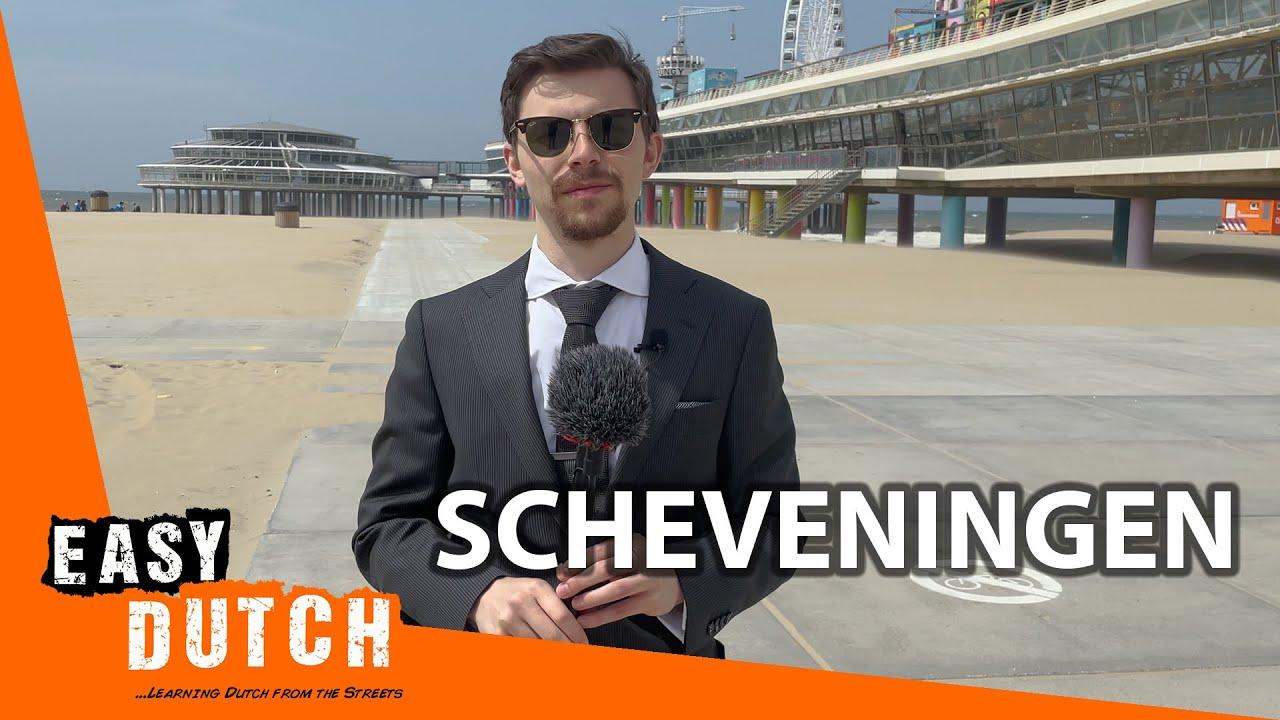 Tour Around Scheveningen (In slow Dutch)   Super Easy Dutch 3