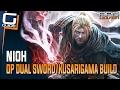 Nioh Guide - OP Dual Sword/Kusarigama/Thrown Weapons Ninja Build (No Magic)