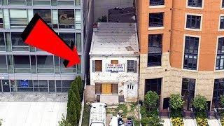 Uomo si rifiuta di demolire la sua casa per 3 MILIONI €! Guardate cosa gli ha fatto lo Stato!