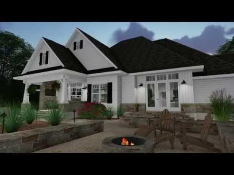 CRAFTSMAN HOUSE PLAN 9401-00096