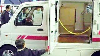 軽キャンピングカー 車中泊 かるキャン スズキキャリーカスタム Transform Small Camper Japan