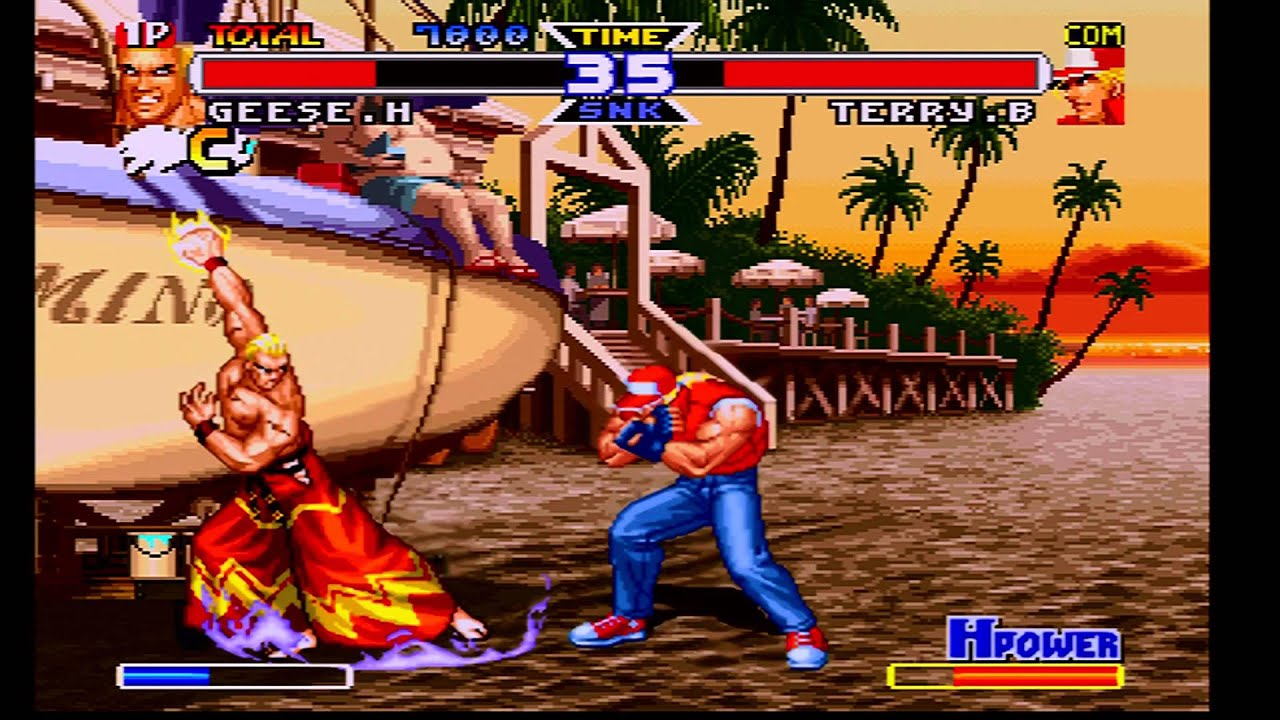 Real Bout Fatal Fury Special Saturn 1080p 60 Fps Via Rgb