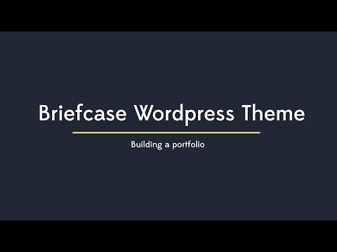 Briefcase - Building a portfolio