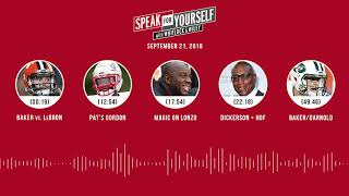SPEAK FOR YOURSELF Audio Podcast (9.21.18) with Marcellus Wiley, Jason Whitlock | SPEAK FOR YOURSELF