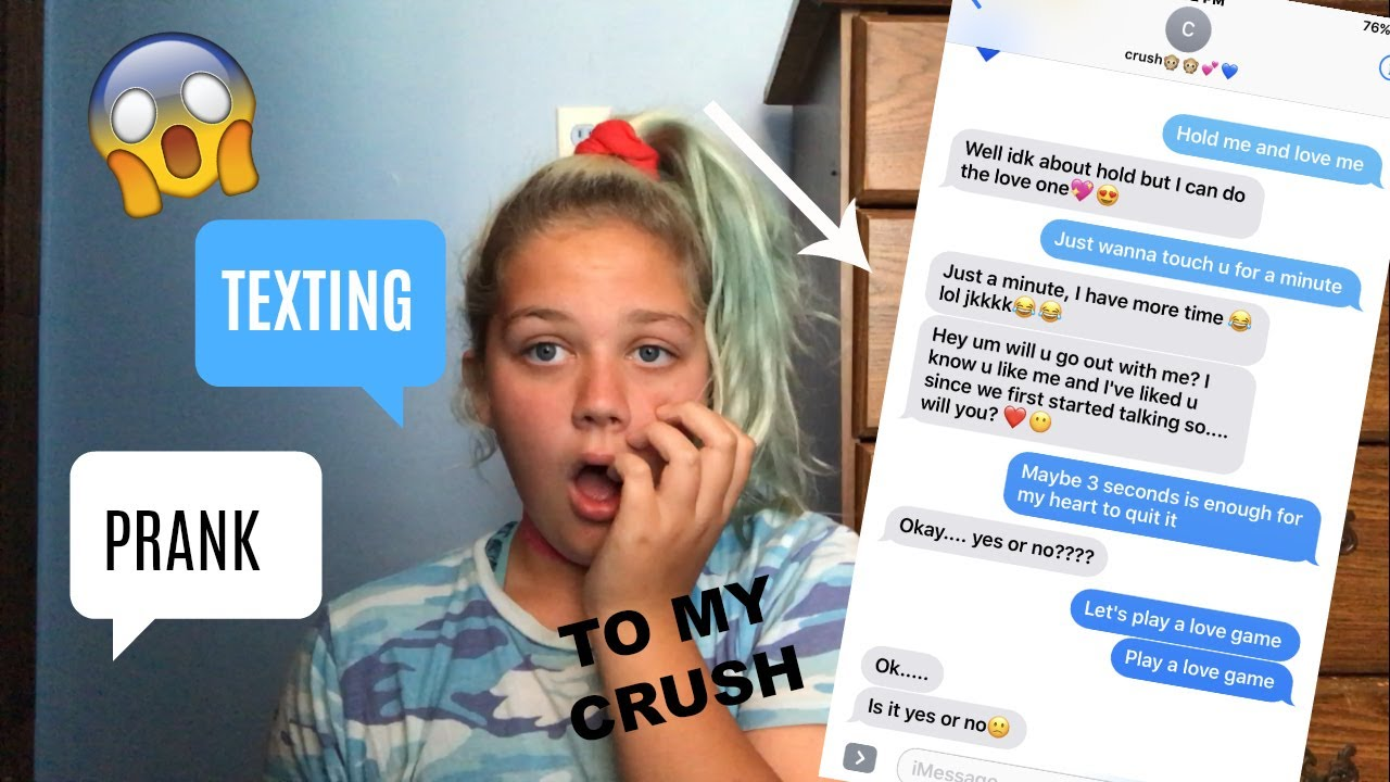 Prank called my crush is dating