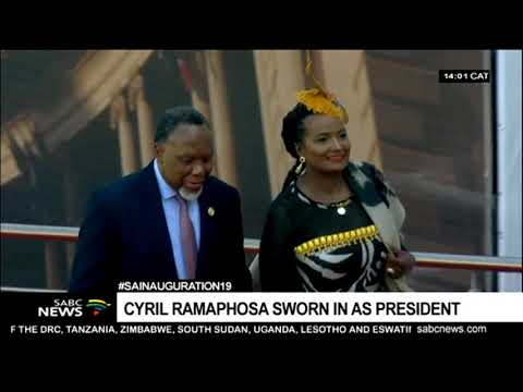 HIGHLIGHTS: President Cyril Ramaphosa inauguration 2019