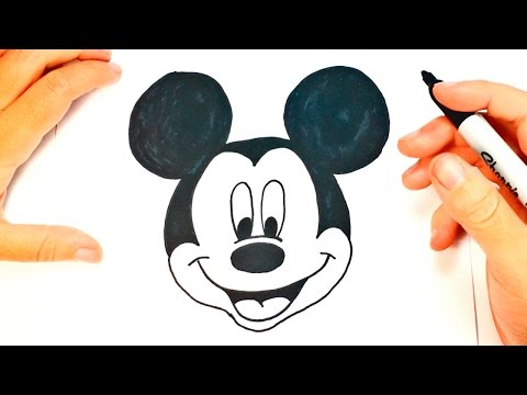 How To Draw Mickey Mouse | Mickey Mouse Easy Draw Tutorial