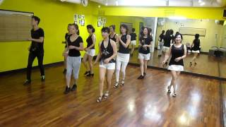 Locomotion Tango (by Chas. Oliver) - Line Dance