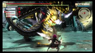 DLC God Eater 2 Rage Burst Orochi Fight