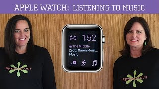 Apple Watch - Listening to Music