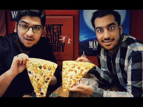 Broadway 20 Inch Slice Eating Challenge