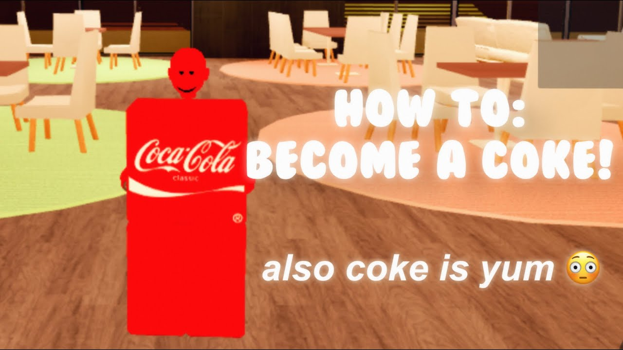 How To Dress Like A Coke On Roblox Trolling Youtube