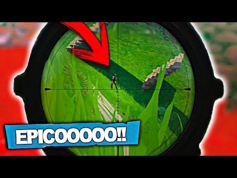 EL GRAN TIRO CON EL SNIPER!! Fortnite: Battle Royale   Zoko