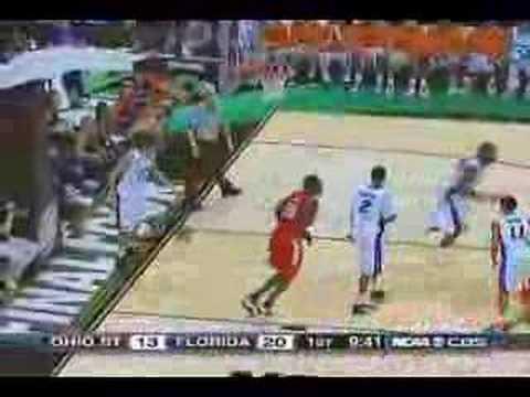 Few Greg Oden Highlights - NCAA Championship Game