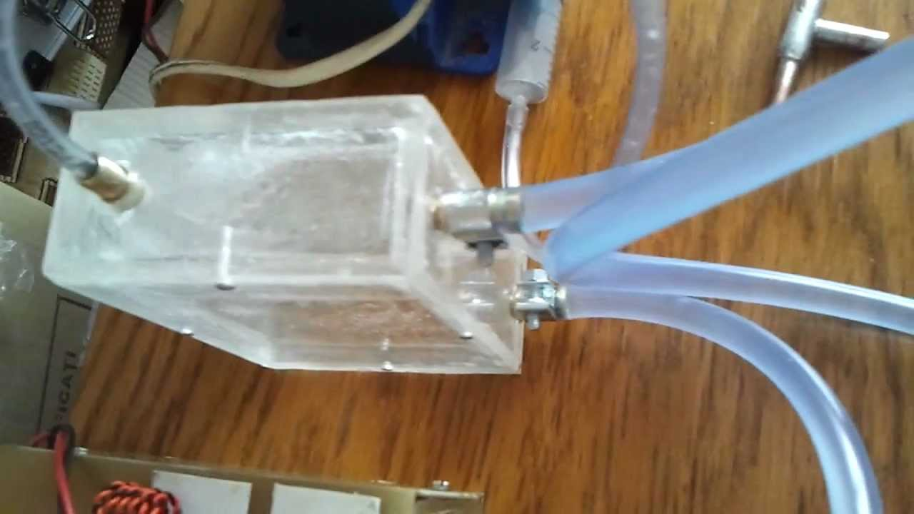 Homemade Cooling System Pc Quot Pentafreezer2 Quot Mp4 Youtube