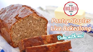 Use Pantry Staples to make my Best-Ever Banana Bread recipe | Bakealong