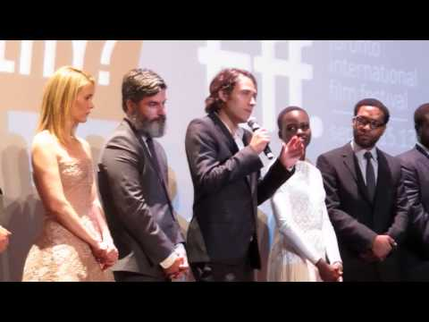 12 Years A Slave cast at 2013 Toronto Film Festival