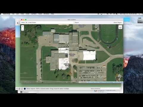 Sketchup Pro 2017 - Add Location