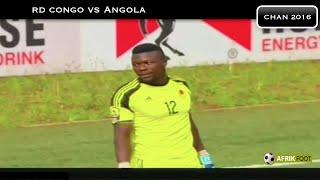 RD Congo vs Angola (4-2) | CHAN 2016
