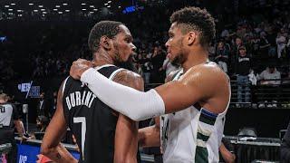 All-Access: Bucks Beat Nets In Game 7 Thriller | Giannis \u0026 Durant Battle | Locker Room Access