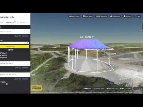 Australian UAV Quarry Demo