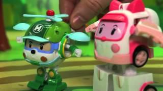 Мультик для детей с игрушками Робокар полли на русском - Всем нужно отдыхать.Игрушечные машинки