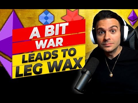 When a Live Twitch Bit War Leads to Me Having To Wax My Legs ( Stream Chat Moments )