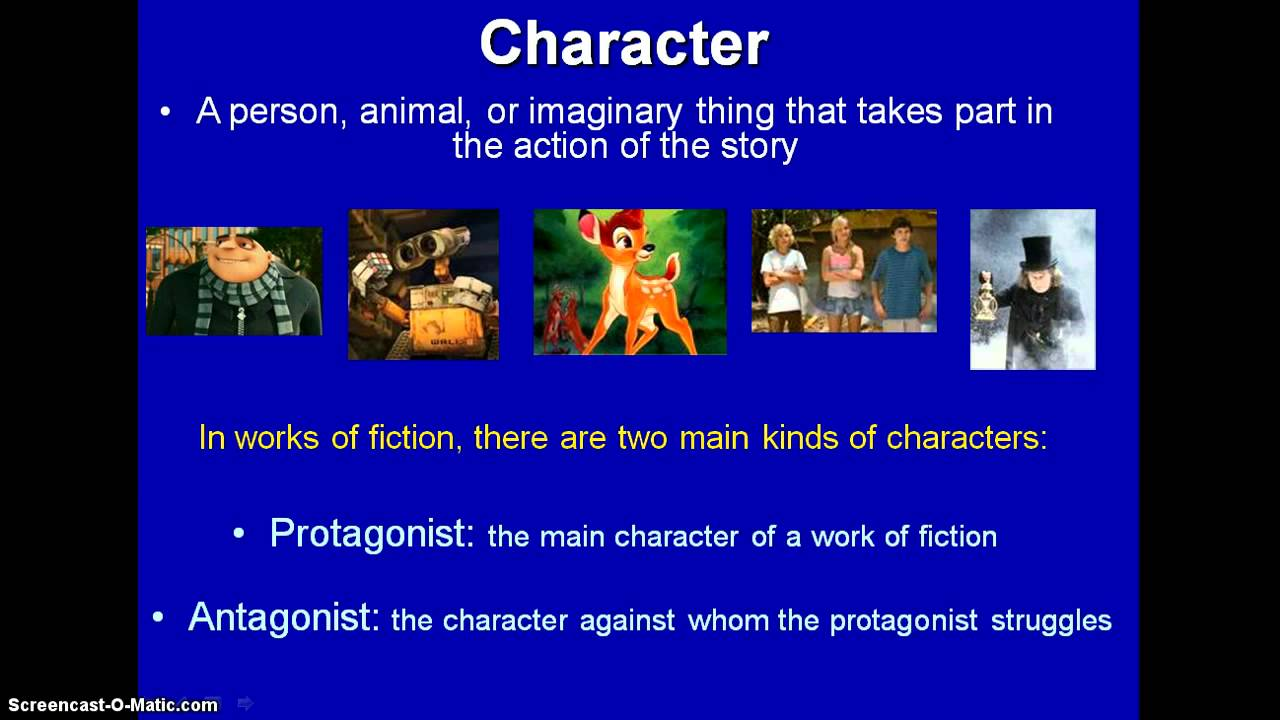 Characterization Flipped Lesson Youtube