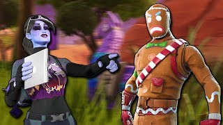 🔴Gingerbread OG Version is HERE!   is it coming back tonight?   Fortnite Mobile!