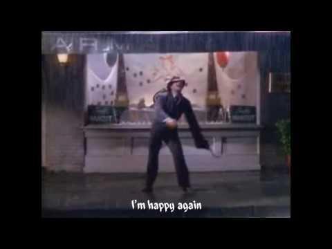 I'm singin in the rain (lyrics)