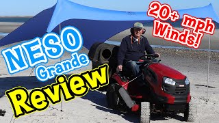 Neso Grande Beach Tent Review | Windy Day Set Up