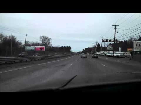 Time Lapse video of drive from Boston, Massachusetts to North Andover, Massachusetts.