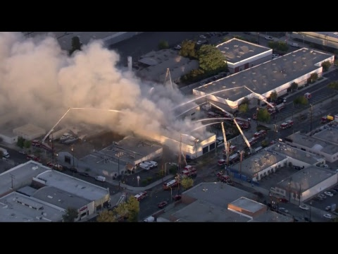 WATCH LIVE: Glassell Park Fire