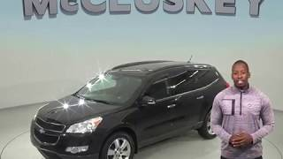 C98565JA - Used, 2010, Chevrolet Traverse, LT, Test Drive, Review, For Sale -