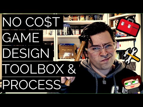 Thumbnail images for No Cost Game Design Toolbox and Process video
