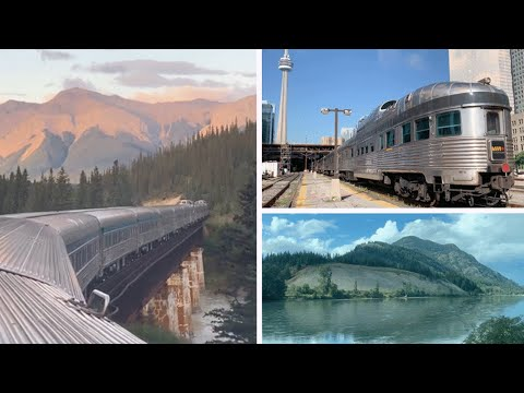 Toronto To Vancouver By Train:  VIA Rail's 'Canadian'