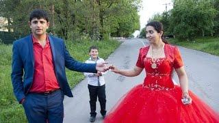 Цыганская свадьба. Красавцы молодожены. Петя и Оля. 3 эпизод