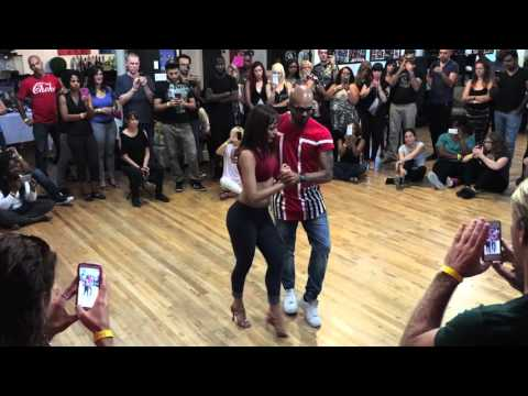 "Albir & Sara Kizomba Demo to Archie & Sizzle's song ""Wish"" in Montreal #KizombaWorth"