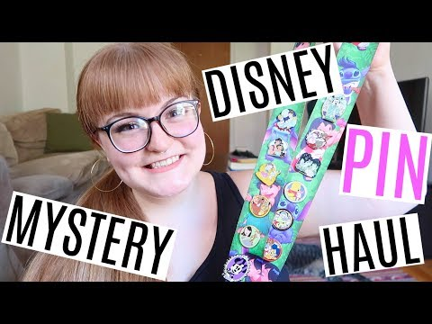 HUGE DISNEY PIN MYSTERY UNBOXING & HAUL! (23 PINS TOTAL)