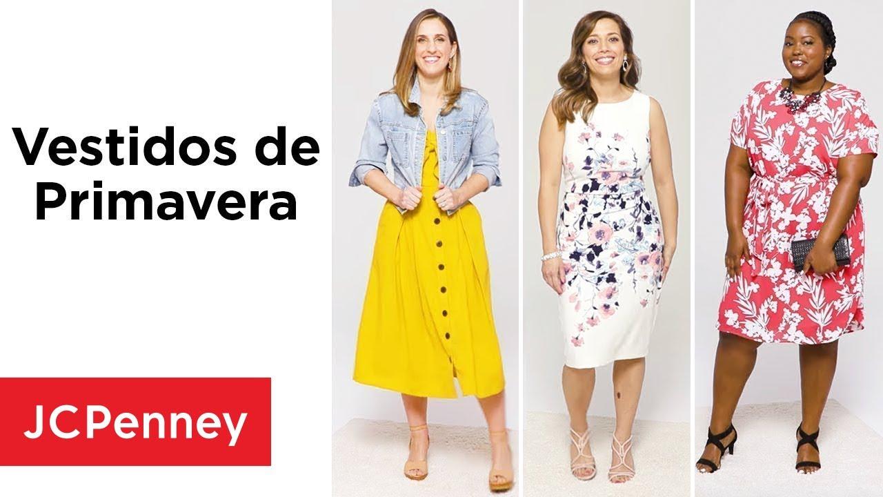 Vestidos De Primavera Para Todas Las Ocasiones Moda 2019 Jcpenney En Español