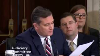 Sen. Ted Cruz calls out Democrat Hypocrisy in Sessions Hearing