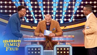 The NFL's finest battle it out on the Feud! | Celebrity Family Feud
