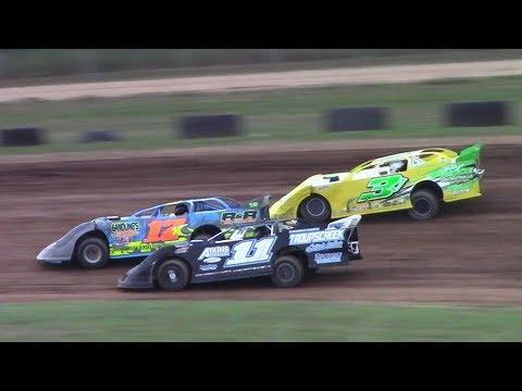 RUSH Crate Late Model Heat Two | McKean County Raceway | 8-17-17